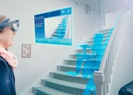 Projektowanie windy schodowej za pomocą rzeczywistości mieszanej