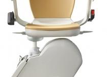 Nowe krzesełko ACORN IN, bieg prosty schodów.