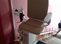 Obrót krzesełka Platyna CU podczas parkowania