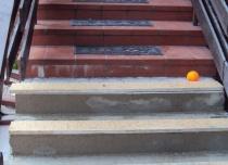 Miejsce montażu krzesełka dźwigowego - windy schodowej Acorn Out