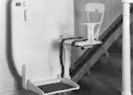 Pierwsza winda schodowa - Inclin-ator