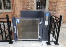 Winda dla niepełnosprawnych naszej produkcji JURA 14.10 produkcji Lift Plus PL!!!
