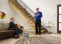 Krzesełko schodowe Home posiada najnowsze systemy bezpieczeństwa i mogą korzystać z niego wszyscy domownicy.