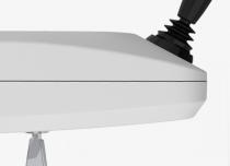 Joystick sterowania kierunkiem jazdy w podłokietniku krzesełka schodowego