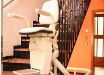 Tor jezdny krzesełka Hawle składa się z szyny podwójnej - górna prowadząca i dolna wyposażona w napęd zębatkowy