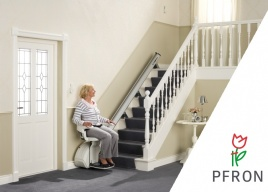 Dzięki dofinansowaniu ze środków PFRON osoby fizyczne mogą likwidować bariery architektoniczne i instalować krzesełka schodowe