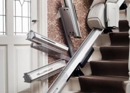 Szyna zawiasowa krzesełka schodowego Homeglide